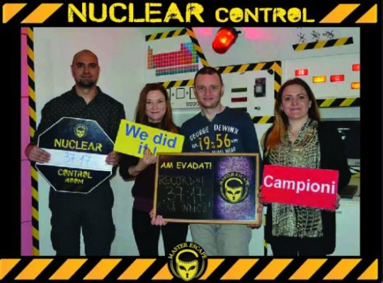 escape room iasi | Master Escape > #1 Team Building > Nuclear Control Room Iasi