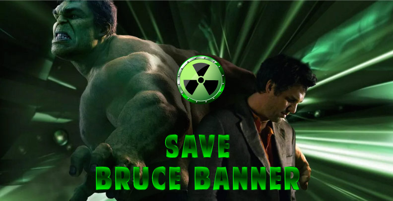 Save Bruce Banner Escape Room - Booking