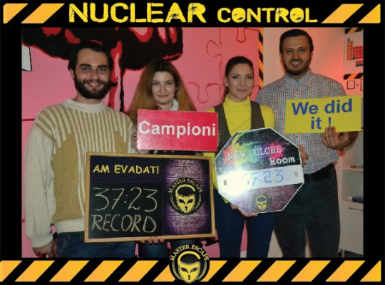 escape room iasi | Master Escape > #2 Team Building > Nuclear Control Room Iasi