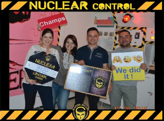 escape room iasi | Master Escape > #3 Team Building > Nuclear Control Room Iasi