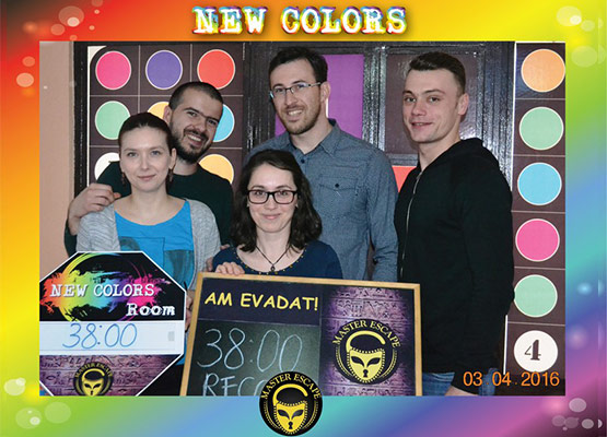escape room iasi | Master Escape > #2 Team Building > New Colors Room Iasi