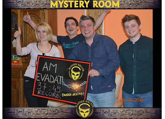 escape room iasi | Master Escape > #1 Team Building > Mystery Room Iasi