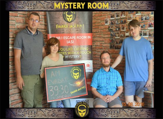 escape room iasi | Master Escape > #2 Team Building > Mystery Room Iasi