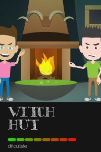 MASTER ESCAPE room Iasi - WITCH HUT - exit game