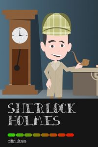 MASTER ESCAPE room Iasi - Sherlock Holmes - exit_game